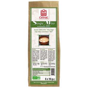 Celnat - Soupe Miso instantanée bio