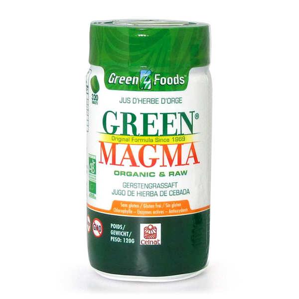 Green Magma en comprimés