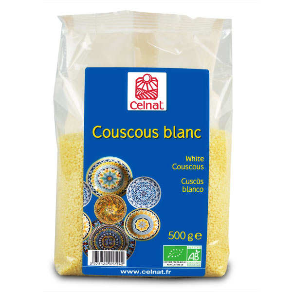 Organic white couscous