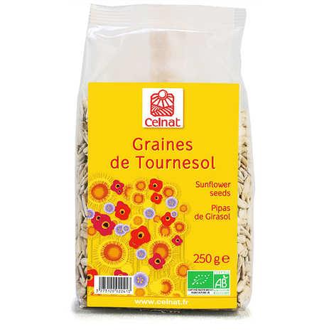 Celnat - Graines de tournesol décortiquées bio