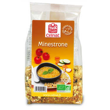 Préparation pour minestrone bio instantané