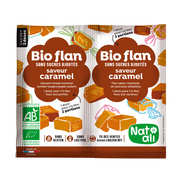 Nat-Ali - Organic sugarfree caramel flan mix