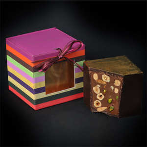 Chocolats François Pralus - Cubissime chocolate cube