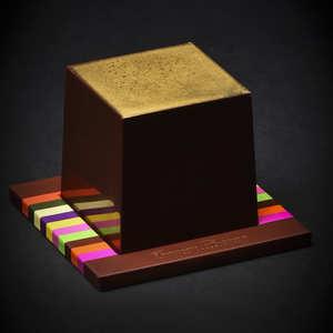 Chocolats François Pralus - Cubissime - Le cube en chocolat par François Pralus