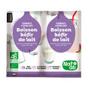 Nat-Ali - Préparation pour boisson kéfir de lait bio