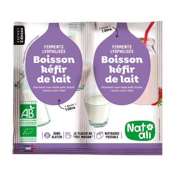 Préparation pour boisson kéfir de lait bio