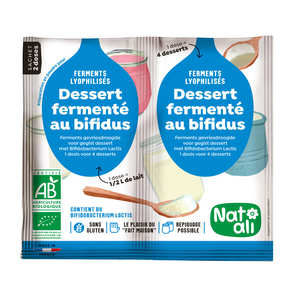 Nat-Ali - Organic yoghurt mix with bifidus