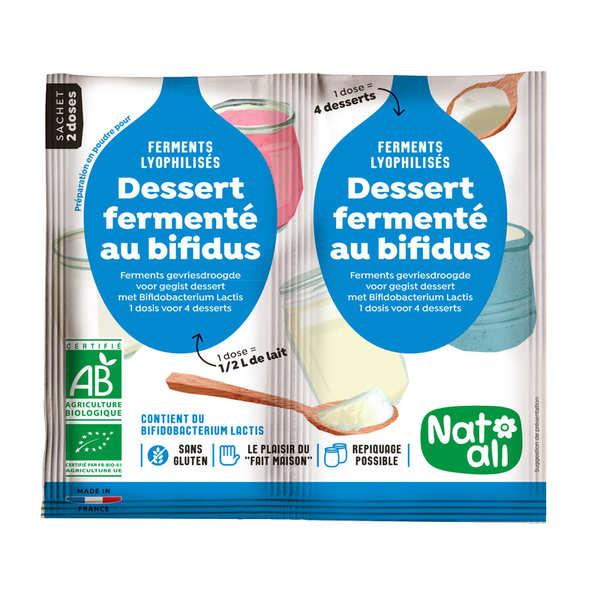 Organic yoghurt mix with bifidus