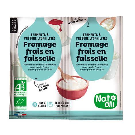Nat-Ali - Préparation pour fromage frais en faisselle bio