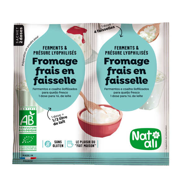 Organic cheese mix
