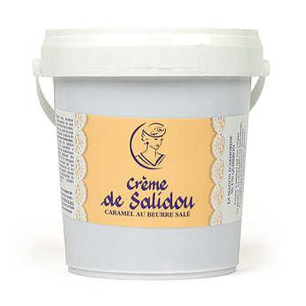 La Maison d'Armorine - Crème de Salidou- Caramel au beurre salé en seau de 1kg