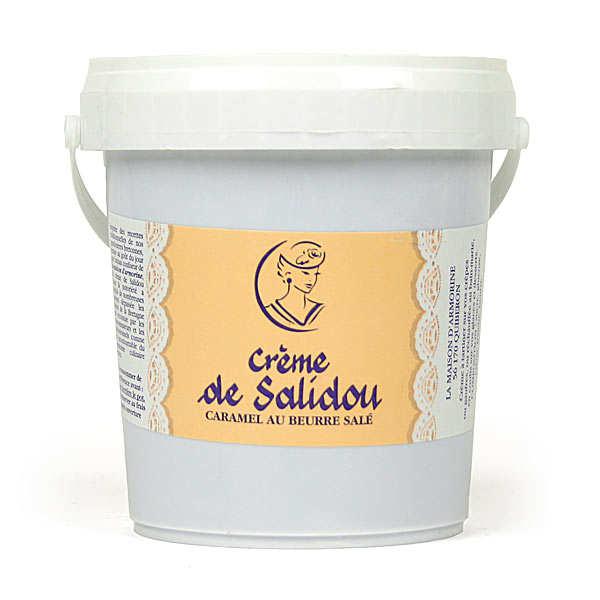 Crème de Salidou- Caramel au beurre salé en seau de 1kg