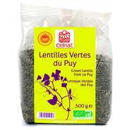 Celnat - Lentilles vertes du Puy AOC bio