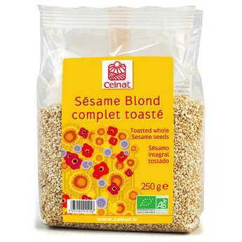 Celnat - Sésame blond complet toasté bio
