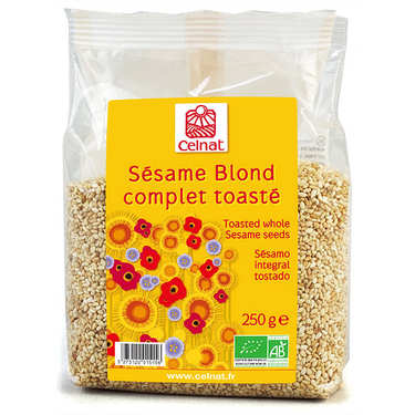 Organic toasted sesame seeds