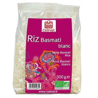 Celnat - Riz basmati blanc bio en sachet