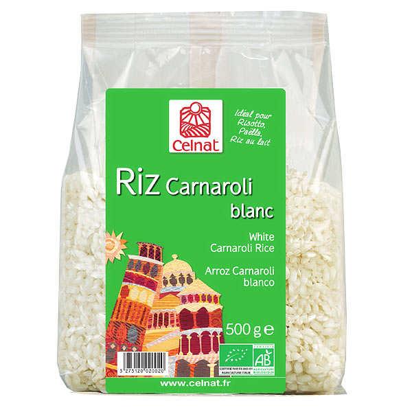 Riz Carnaroli bio spécial risotto