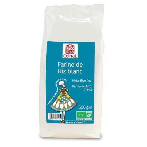 Celnat - Organic white rice flour