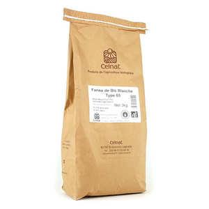 Celnat - Farine de blé blanche bio type 65