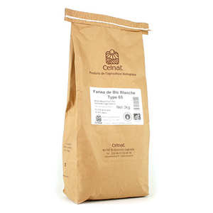 Celnat - Organic type 65 white wheat flour