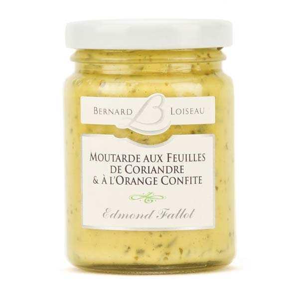 Moutarde aux feuilles de coriandre & à l'orange confite - Bernard Loiseau