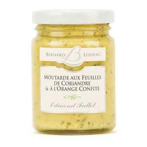Fallot - Mustard with coriander leaves and candied orange - Bernard Loiseau