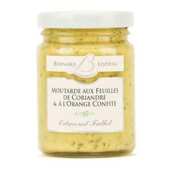Fallot - Moutarde aux feuilles de coriandre & à l'orange confite - Bernard Loiseau
