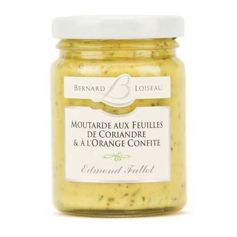 Fallot - Mustard with coriander leaves and candied orange - Bernard Loiseau