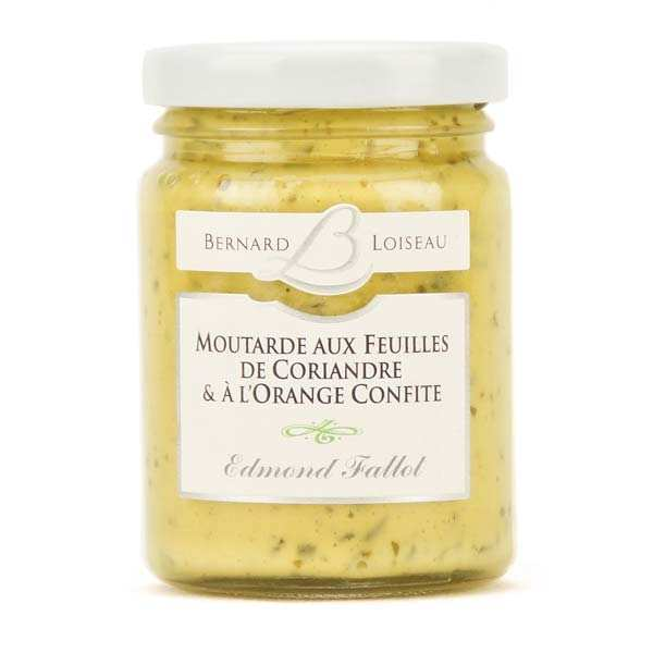 Mustard with coriander leaves and candied orange - Bernard Loiseau
