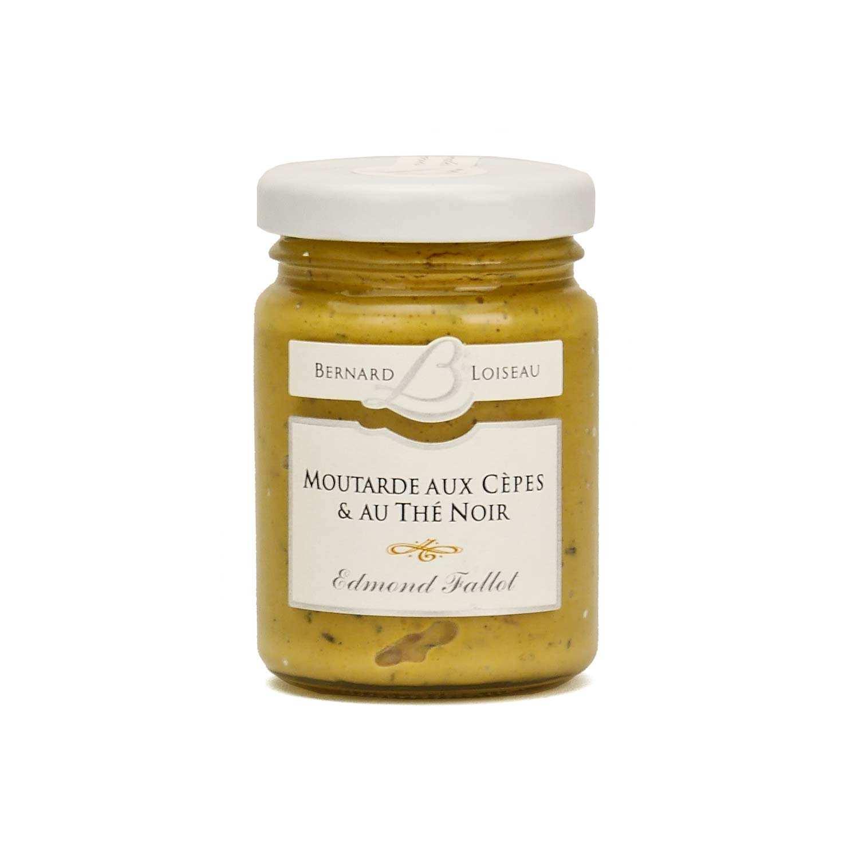 Moutarde aux cèpes & au thé noir - Bernard Loiseau