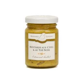 Fallot - Mustard with cep mushrooms and black tea - Bernard Loiseau