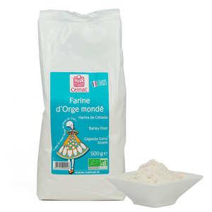 Celnat - Farine d'orge mondé bio
