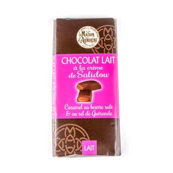 La Maison d'Armorine - Chocolat au lait fourré à la crème de caramel au beurre salé (Salidou)