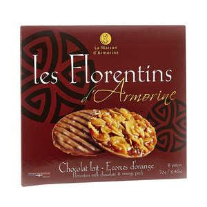 La Maison d'Armorine - Florentins - Chocolat au lait et caramel