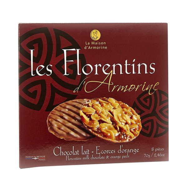 florentins chocolat au lait et caramel la maison d 39 armorine. Black Bedroom Furniture Sets. Home Design Ideas