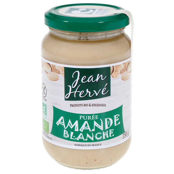 Organic white almonds paste (350g)