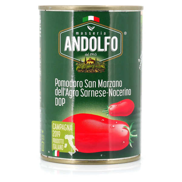 Peeled Italian tomatoes - San Marzano de Sarnese-Nocerino