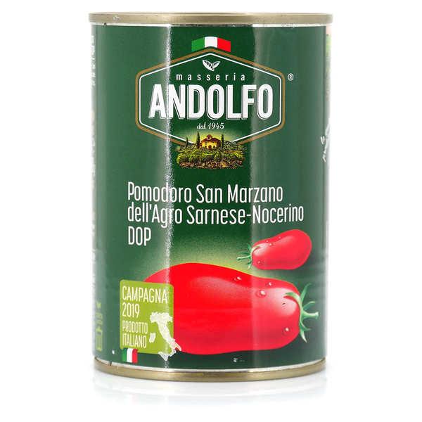 Tomates pelées italiennes - San Marzano de Sarnese-Nocerino