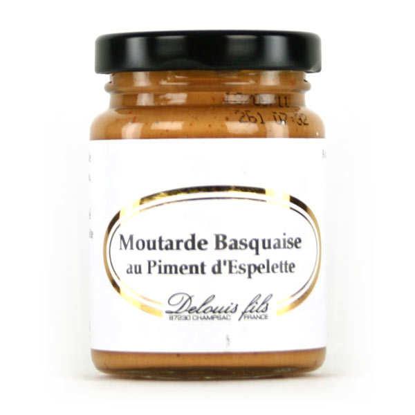 Moutarde basquaise au piment d 39 espelette delouis - Graine de piment d espelette ...