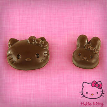 ScrapCooking ® - HELLO KITTY chocolate moulds
