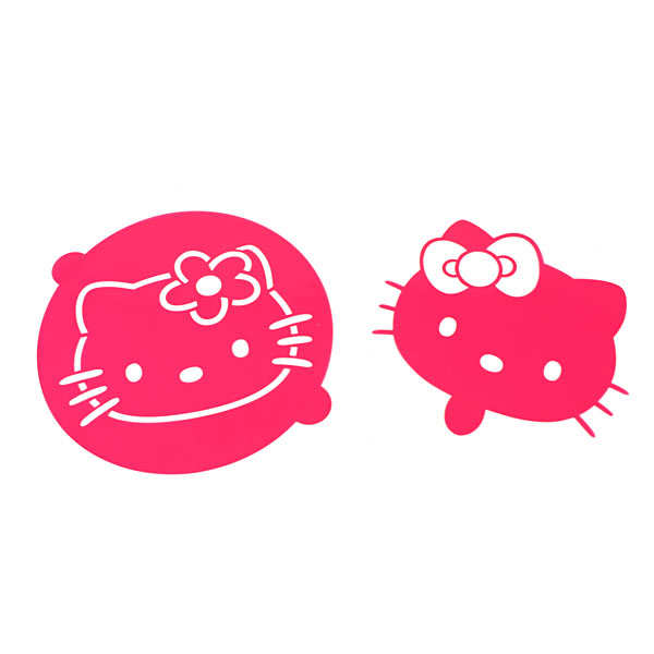 HELLO KITTY cake stencil