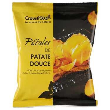 Chips de patate douce bio sans sel ajouté