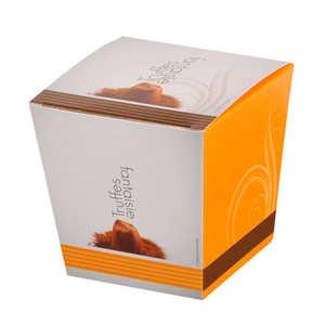 Chocolat Mathez - Truffes fantaisie - Eclats de caramel au beurre salé