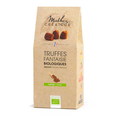 Fairtrade Organic Chocolate Truffles