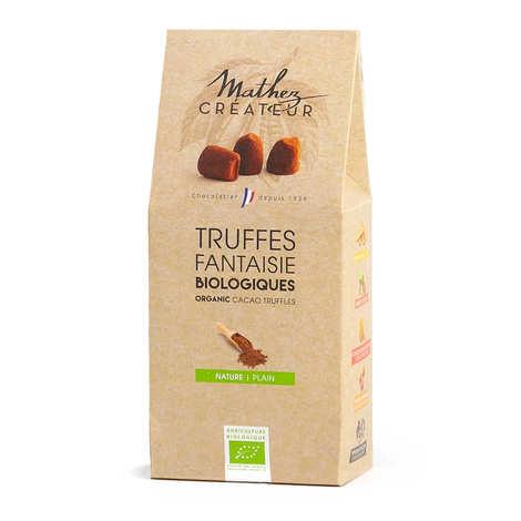 Chocolat Mathez - Truffes fantaisie au chocolat bio équitables