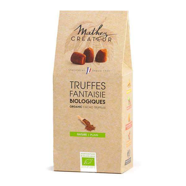 Truffes chocolat fantaisie bio équitables