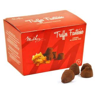 Chocolat Mathez - Chocolate Fantaisie Truffles with Salted Butter Caramel