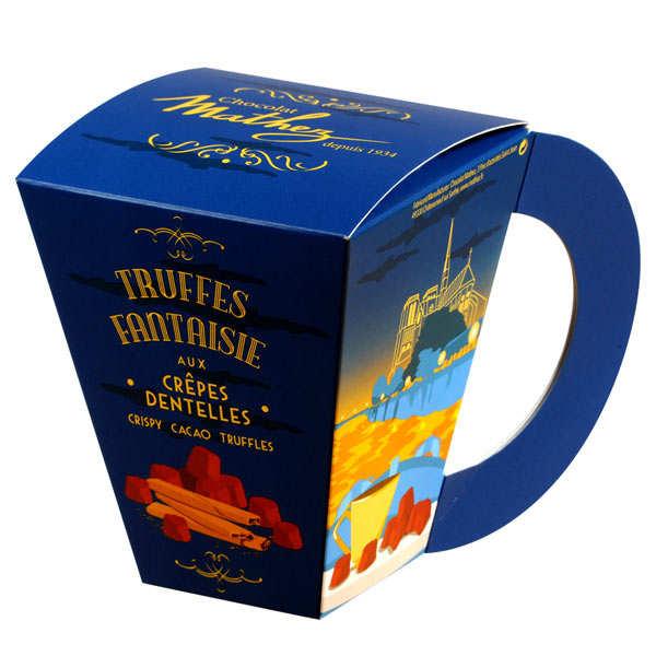 Truffes fantaisie crêpes dentelles - Cup of T
