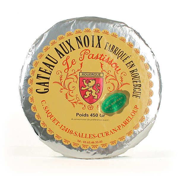 Le Pastissou - Traditional Walnut and Caramel Cake from Aveyron