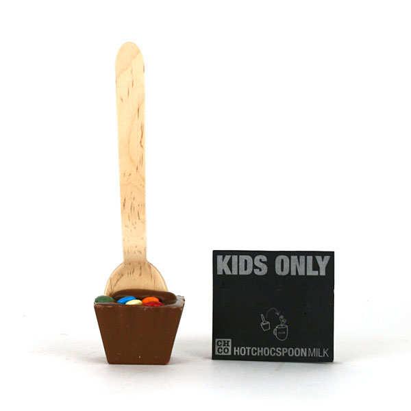 Cuillère chocolat au lait spécial enfants